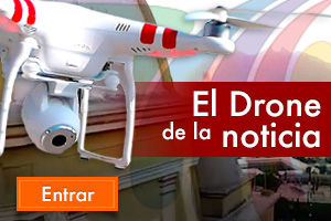 El drone de la noticia