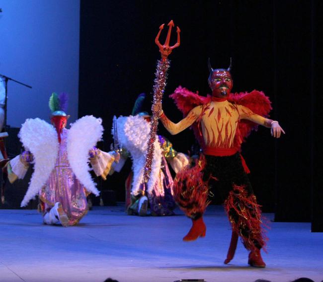 1 - En el marco de actividades del Festival Internacional Cervantino (FIC), el Ballet Folklórico de la Universidad de Guanajuato presentó