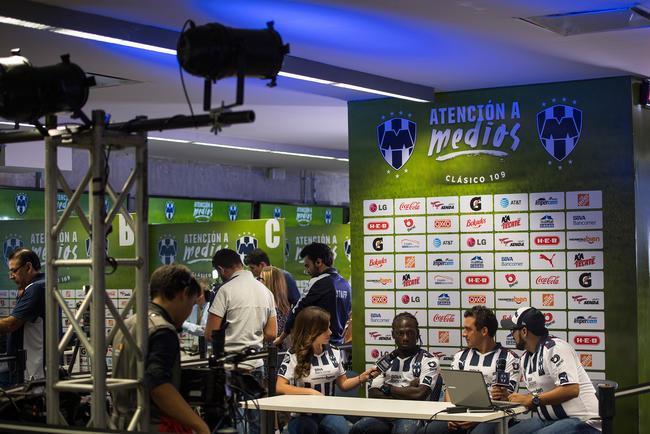 0 - Rayados realizó su tradicional Día de Medios de cara al Clásico Regio 109. Foto: Mexsport