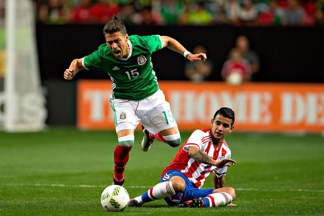 3 - México vence 1-0 a Paraguay en partido amistoso. Foto: Mexsport