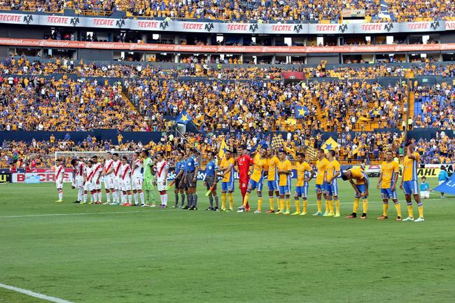 1 - Tigres empató 1-1 ante Veracruz en duelo de la fecha 7 del Apertura 2016. Foto: Info7