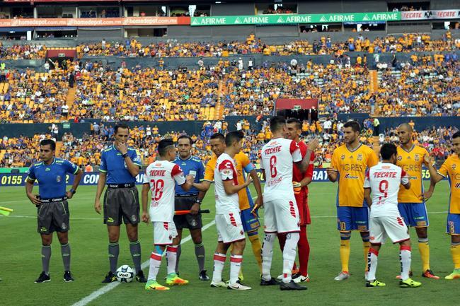 2 - Tigres empató 1-1 ante Veracruz en duelo de la fecha 7 del Apertura 2016. Foto: Info7