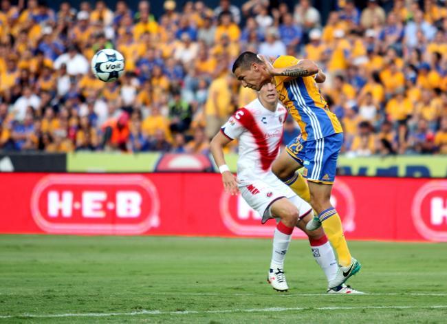 4 - Tigres empató 1-1 ante Veracruz en duelo de la fecha 7 del Apertura 2016. Foto: Info7