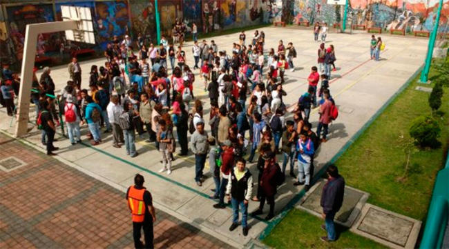 Realizan macrosimulacro en la Ciudad de México